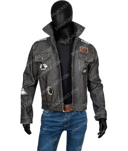Daft Punk black Patches Jacket