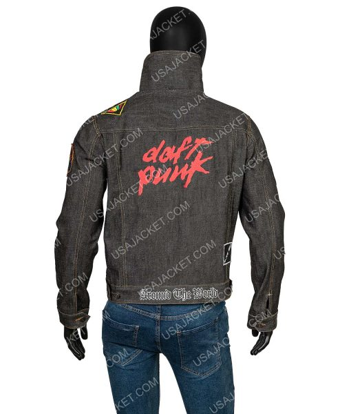 Daft Punk Denim Jacket