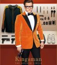 Kingsman The Golden Circle Orange Dinner Tuxedo Jacket