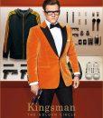 Eggsy Taron Egerton Orange Tuxedo Jacket