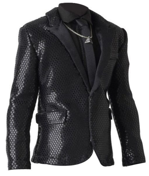 Daft Punk Black Blazer