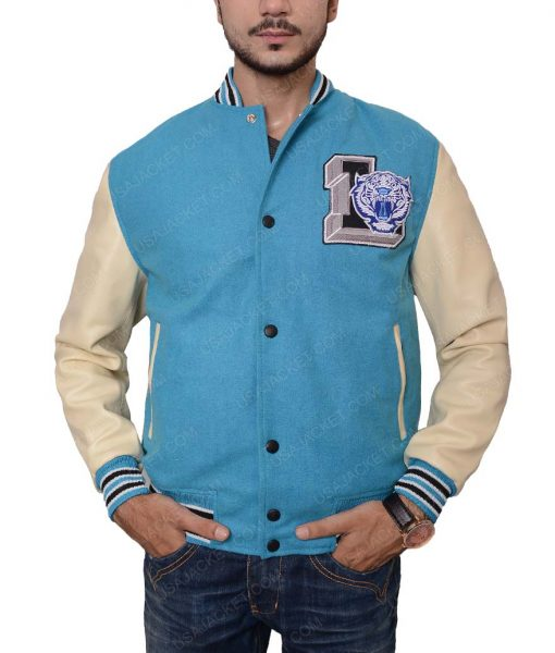 High Tigers Baseball Bomber Jacket