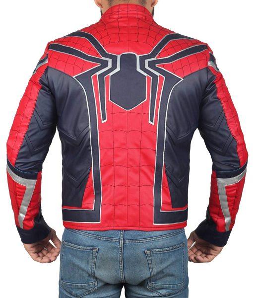 Infinity War Spiderman Tom Holland Peter Parker Costume Jacket