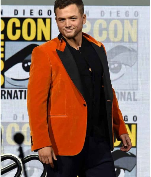 Eggsy Orange Tuxedo Jacket