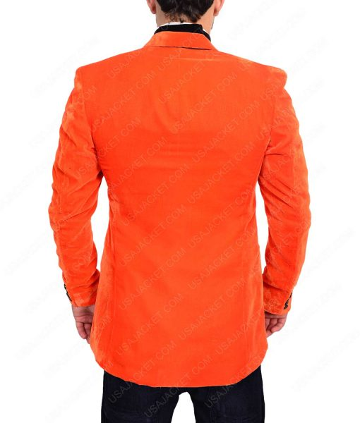 Kingsman Orange Smoking Jacket