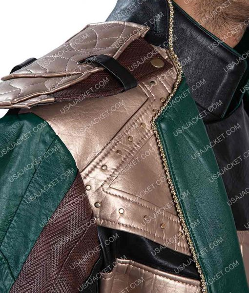 Loki Leather Coat