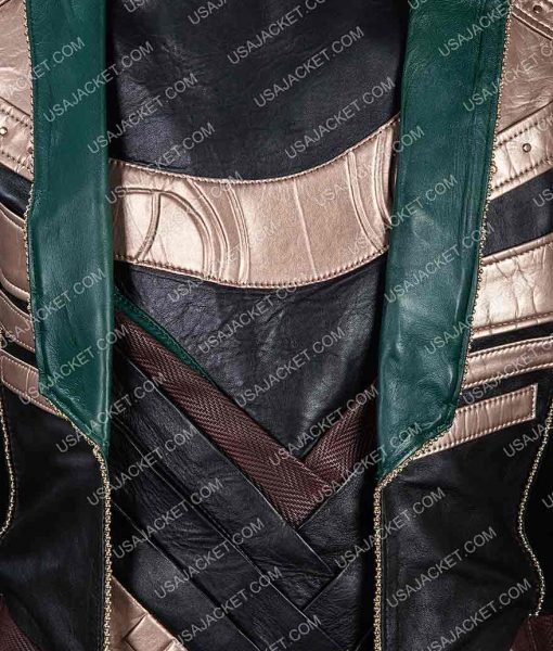 Loki Leather Long Jacket