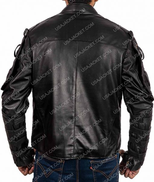 Dark Heroes Rendel Romo Leather Jacket