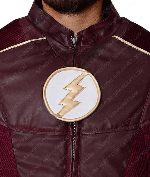 The Flash Barry Allen Season 4 Leather Jacket