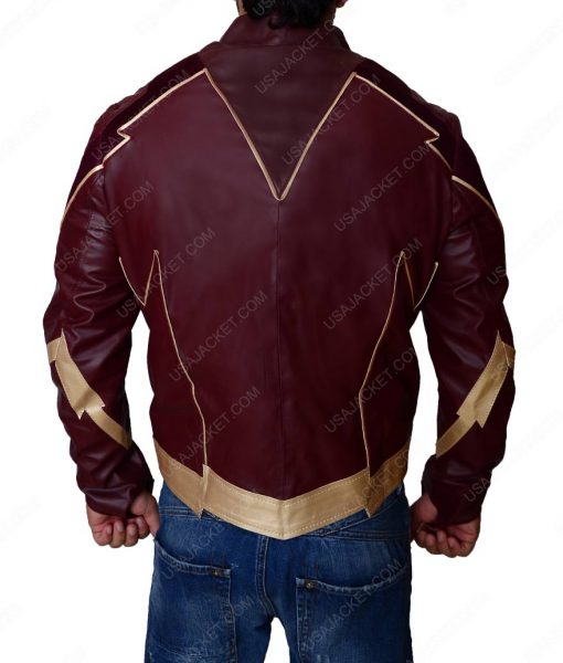 The Flash Season 4 Leather Jacket