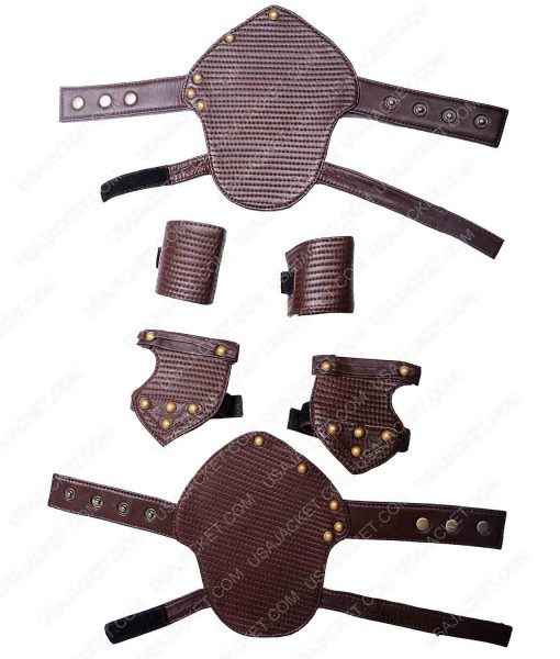 Chris Hemsworth Thor Ragnarok 2017 Armor Leather Vest