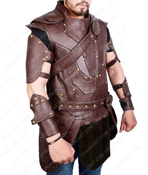 Thor Ragnarok Leather Vest