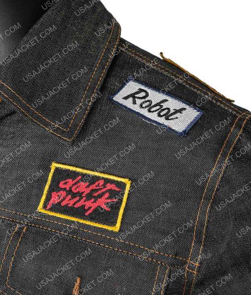 Denim Daft Punk Patches Jacket