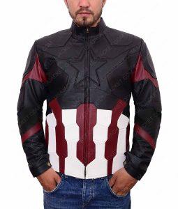 Steve Rogers Infinity War Jacket