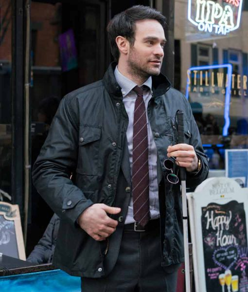 Daredevil Black Cotton Jacket