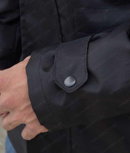 The Defenders Black Cotton Jacket