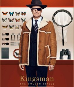 Kingsman The Golden Circle Colin Firth Coat