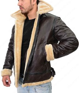 Dunkirk Farrier Flight Shearling Jacket