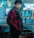 Barry Allen Justice League Azra Miller Red Checkered Plaid Jacket