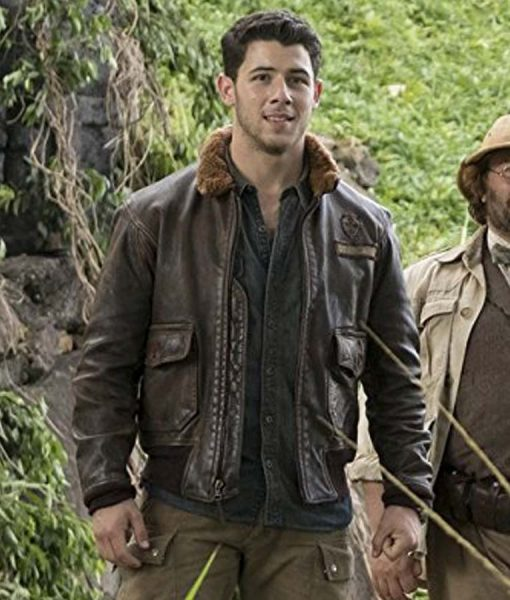 Jumanji Welcome To the Jungle Alex Pilot Jacket