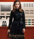 Sophie Cookson Agent Lancelot Roxy Kingsman The Golden Circle Black Trench Coat