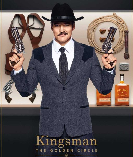 Kingsman The Golden Circle Pedro Pascal Blazer