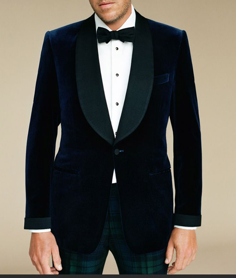 Colin Firth Harry Hart Kingsman Blue Smoking Dinner Blazer ...