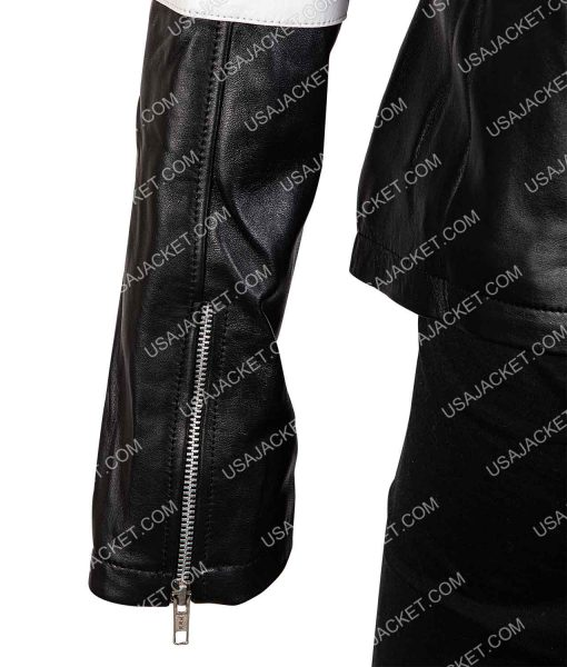 Tiger Future Man Leather Jacket