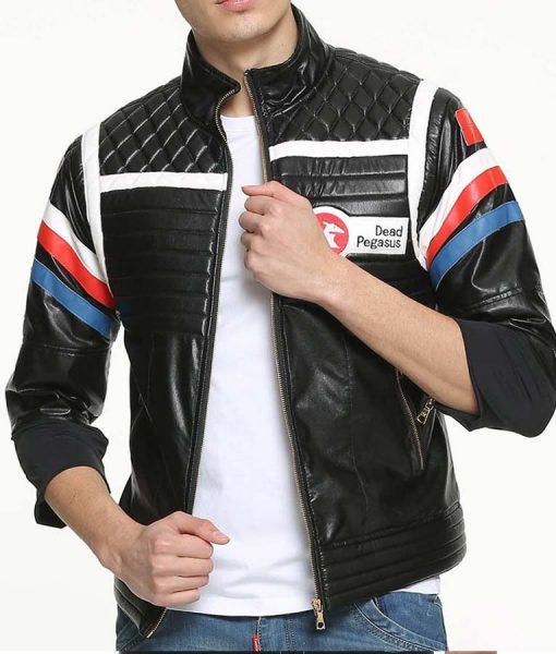 Party Poison Black Leather Jacket