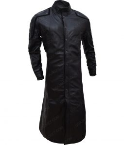 Nick Fury Samuel L. Jackson Avengers Leather Trench Coat