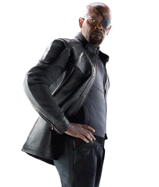 Age of Ultron Nick Fury Leather Coat