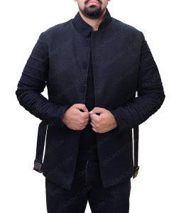 Episode 8 Adam Driver Kylo Ren Black Jacket