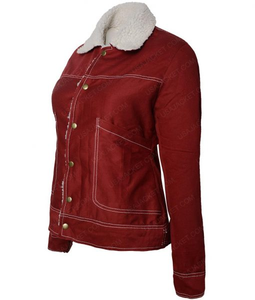 Stranger Things Natalia Dyer Nancy Wheeler Jacket