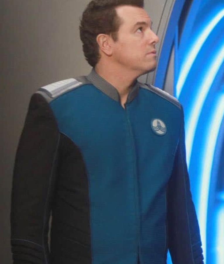 seth macfarlane the orville captain ed mercer uniform jacket
