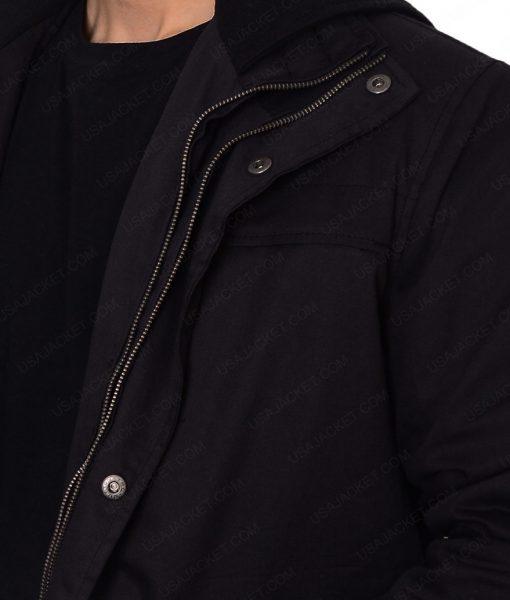 The Punisher Frank Castle Black Cotton Jacket