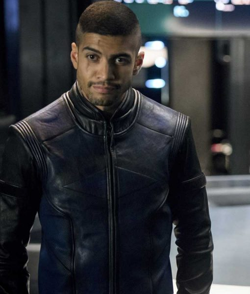 Arrow Rick Gonzalez Leather Jacket