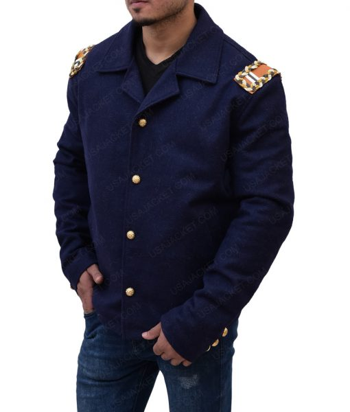 Christian Bale Hostiles J. Blocker Uniform Jacket