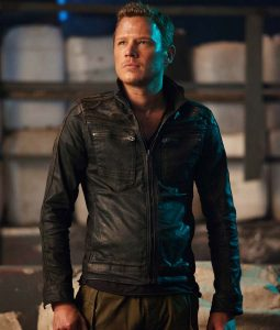 Dominion Christopher Egan Cotton Jacket