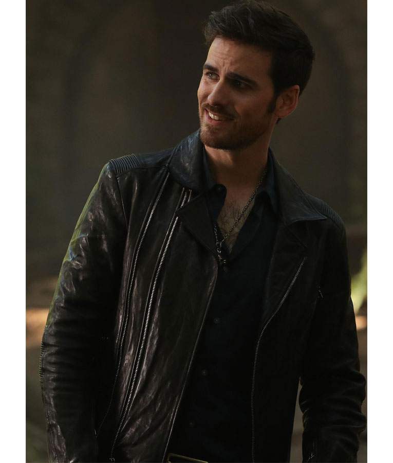 Lucifer Once Upon A Time: Colin O'Donoghue OUAT Captain Hook Jacket