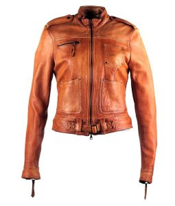 Jennifer Morrison Once Upon A Time Emma Swan Brown Leather Jacket