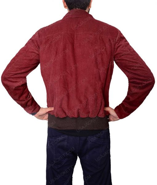 Jack Torrance The Shining Corduroy Red Jacket