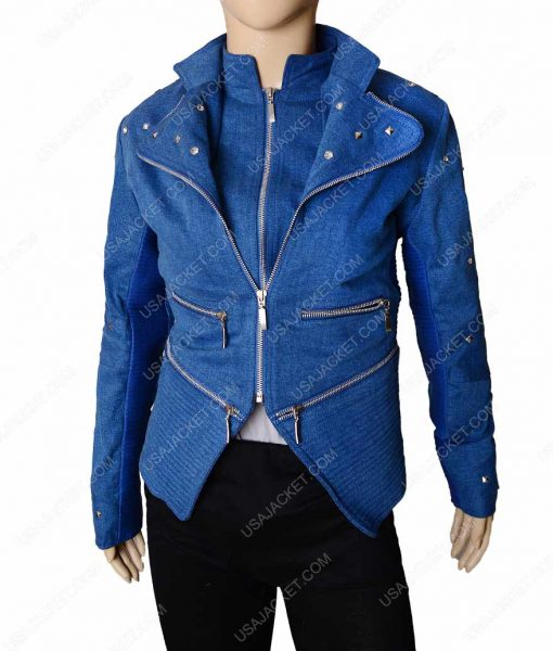Killer Frost Danielle Panabaker Caitlin Snow Denim Jacket