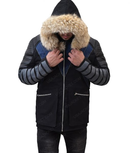 Captain Citizen Cold Leo Snart Parka Coat