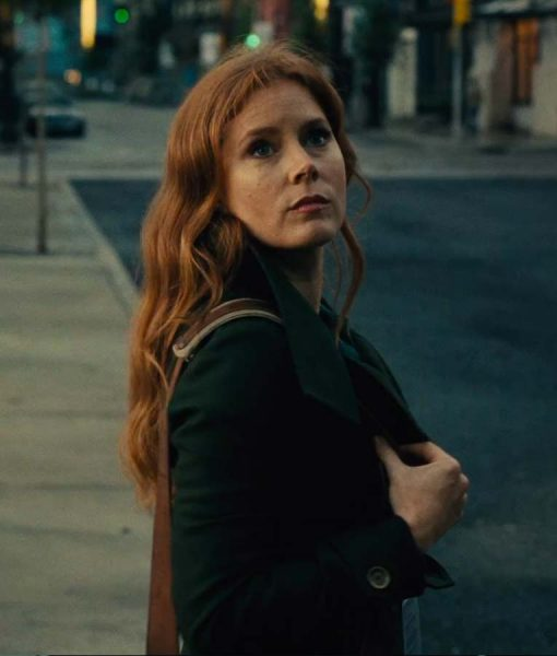Justice League Amy Adams Trench Jacket