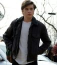 Nick Robinson Simon Spier Black Jacket