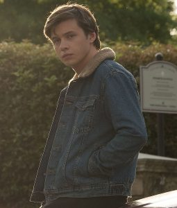 Nick Robinson Simon Spier Denim Blue Jacket