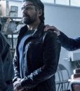 Manu Bennett Slade Wilson Leather Jacket