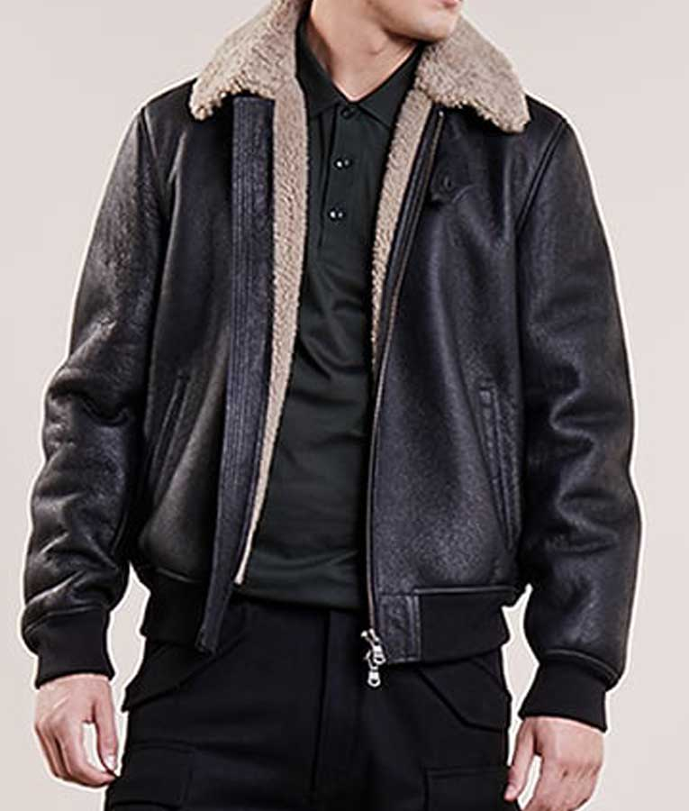 """One of our specialty items is our """"Professional Aviators leather """"Flight Crew"""" jacket. This jacket can replace the trench coat or blazer in winter months. It can be manufactured with a lightweight nylon, or with a """"zip out"""" lining, for all weather conditions."""