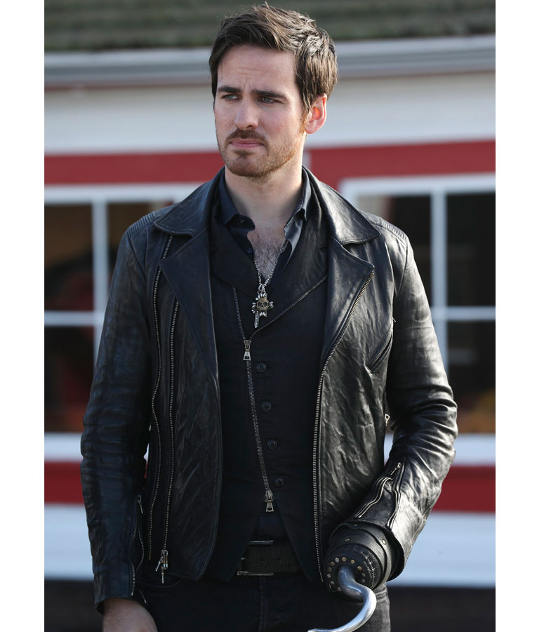 Captain Hook Once Upon A Time: Colin O'Donoghue OUAT Captain Hook Jacket