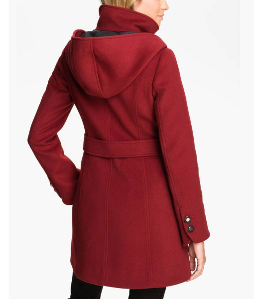 Emma Swan Jennifer Morrison Red Trench Coat